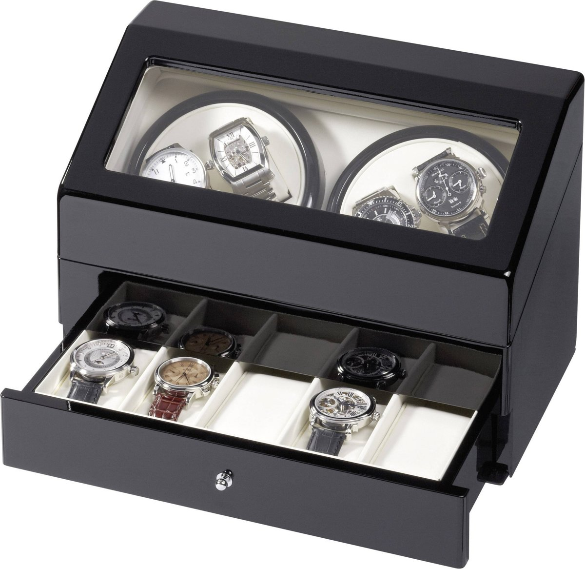 Horlogeopwinder voor 4 automatische horloges Eurochron KA074 kopen