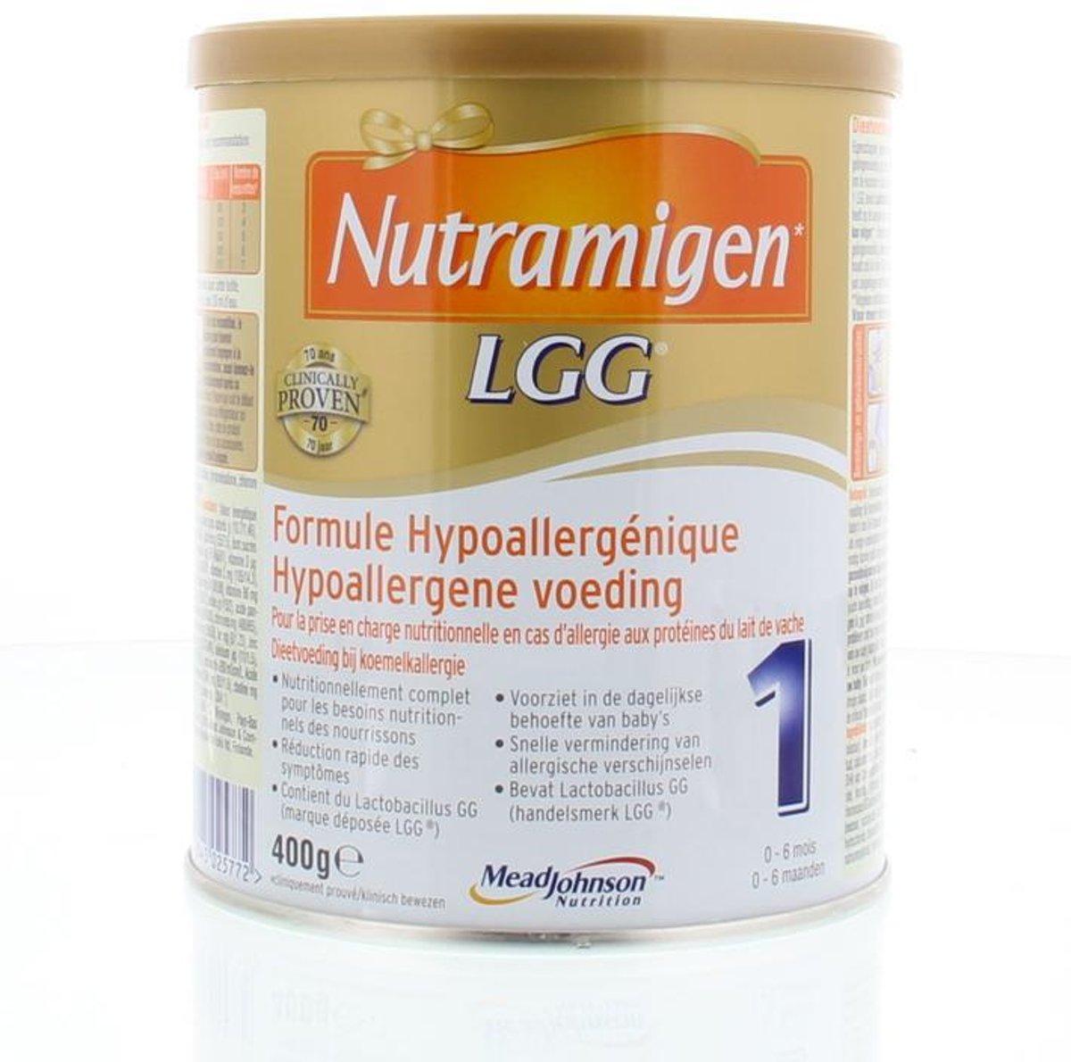 Nutramigen Nutramigen 1 + LGG 400 gram - flesvoeding kopen