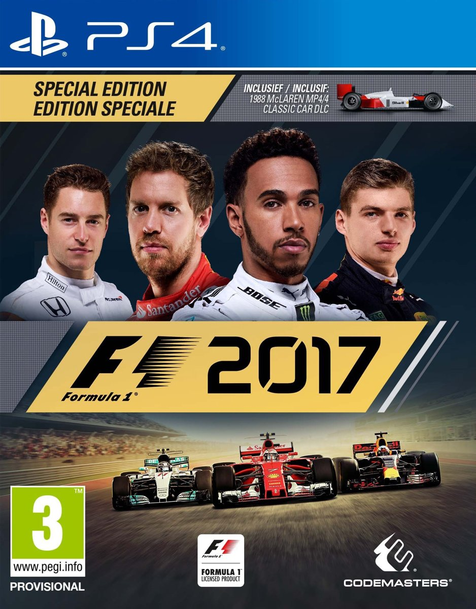 F1 2017 - Special Edition PlayStation 4