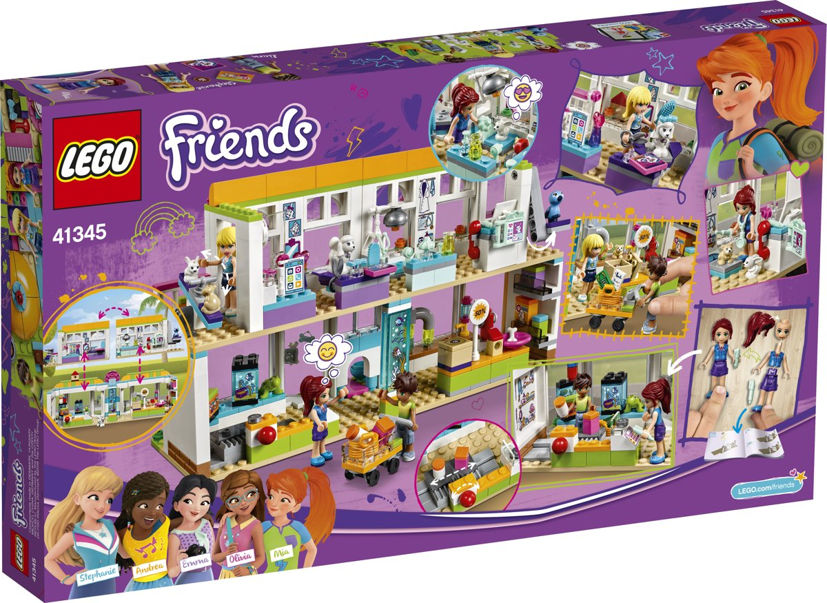 Bolcom Lego Friends Heartlake City Huisdierencentrum 41345