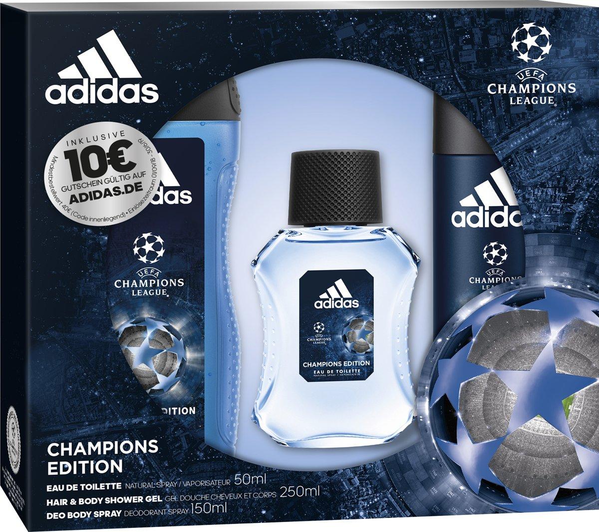   Adidas UEFA 4 Geschenkset Bodyspray 150 ml +