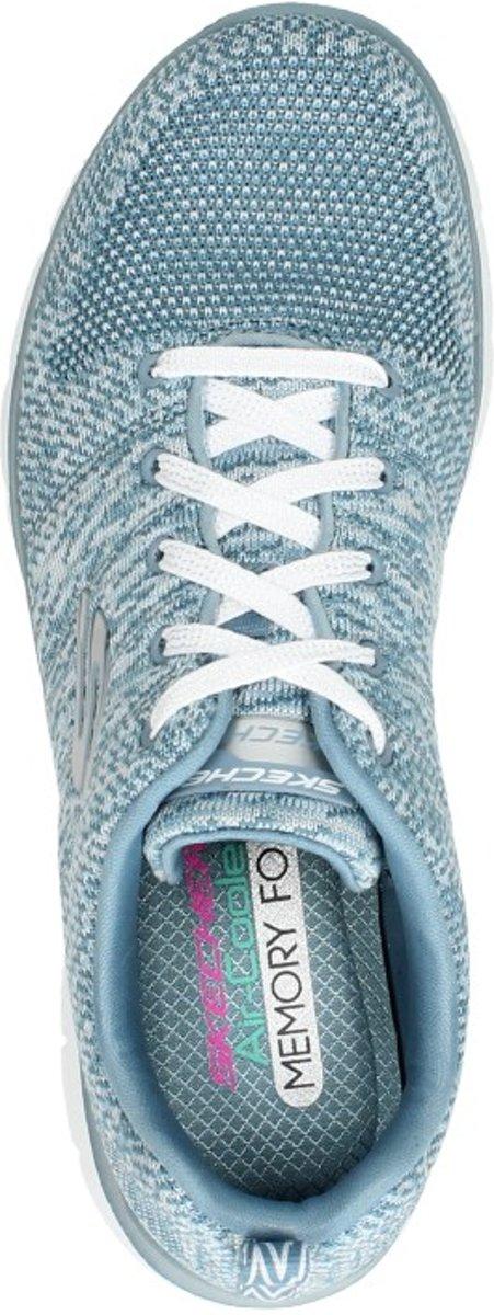 Skechers Flex Appeal 2.0 High Energy Sneakers Dames Slate Maat 38