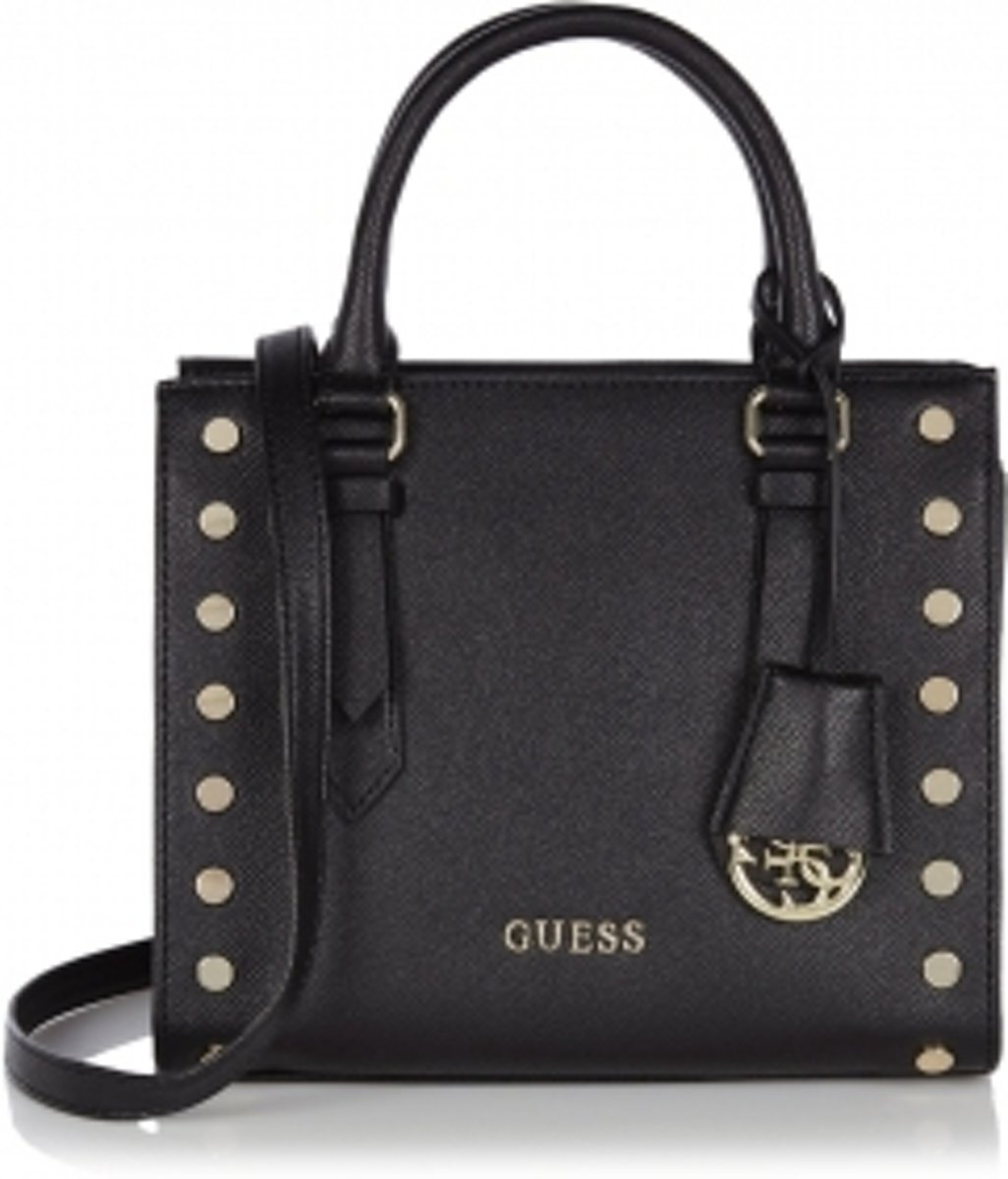 | Guess Tas Charme Small Satchel Black