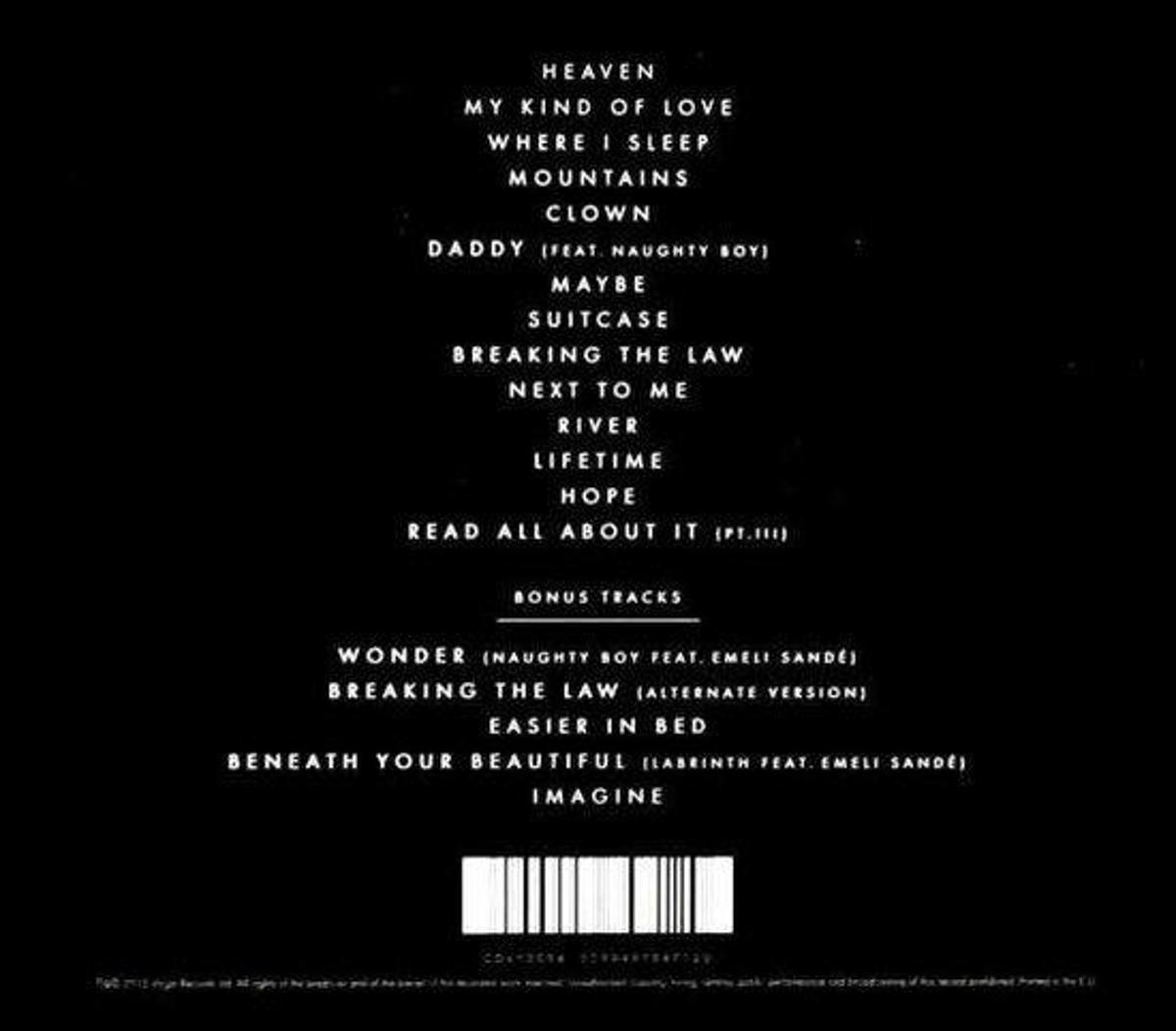 Bolcom Our Version Of Events Deluxe Edition Emeli Sande Cd