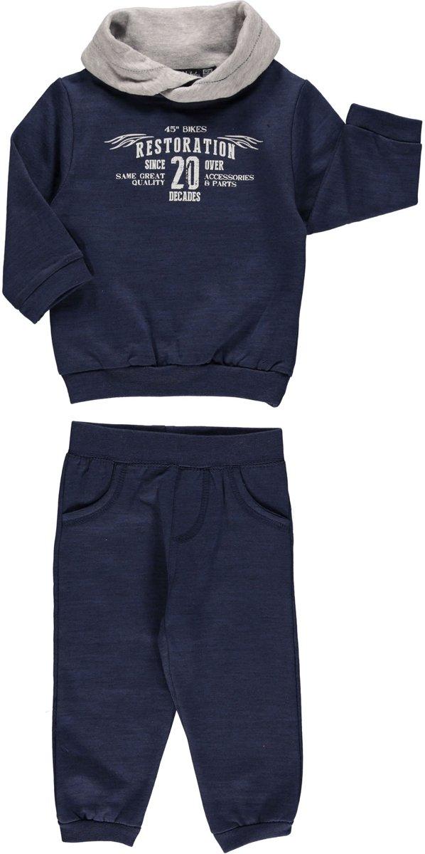 Losan babykleding - Set (2delig) sweater en broek - Maat 80/86