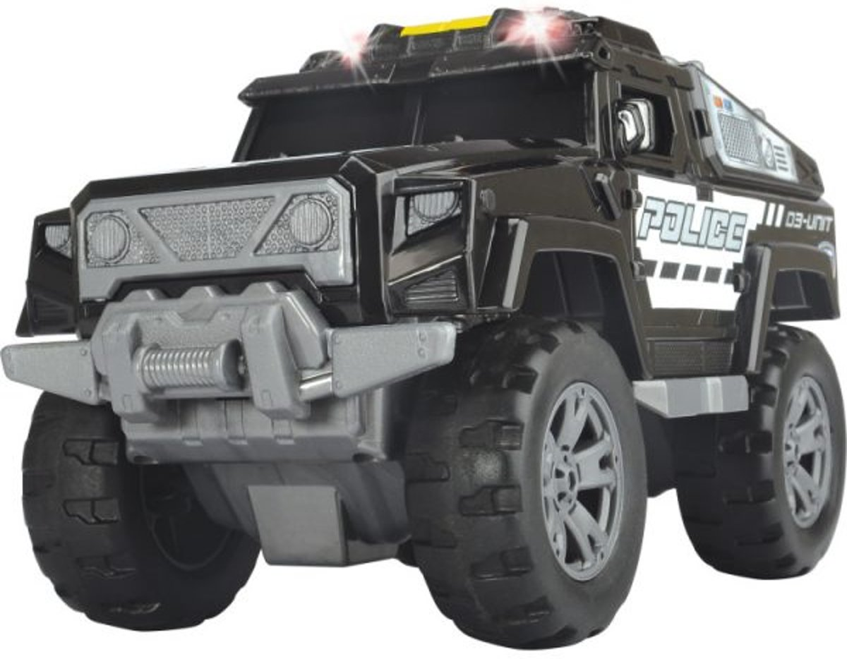 Dickie Action Series - Politiejeep (20cm)