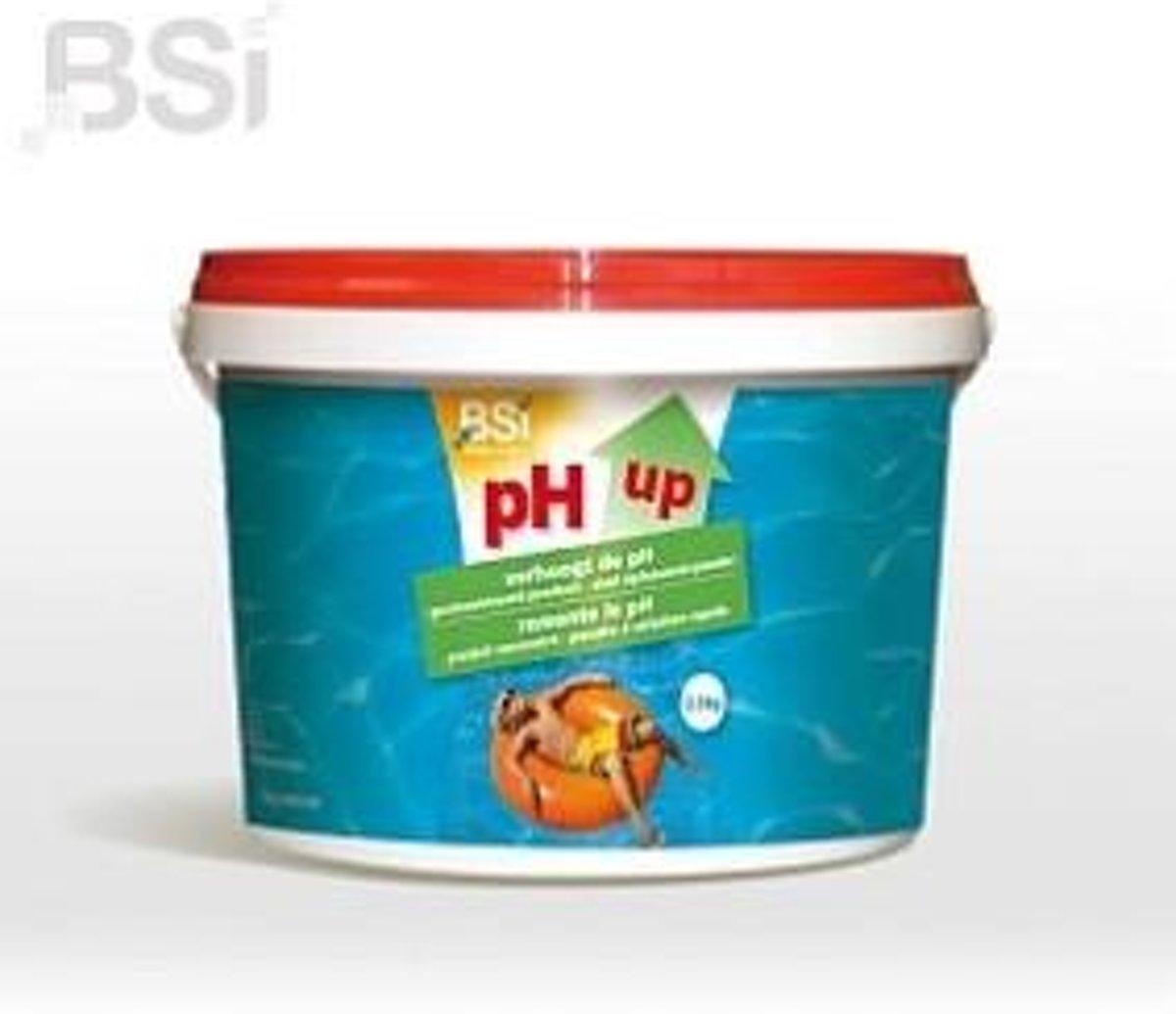 pH Up 2,5 kg - verhoogt de pH-waarde van uw zwembad of spa