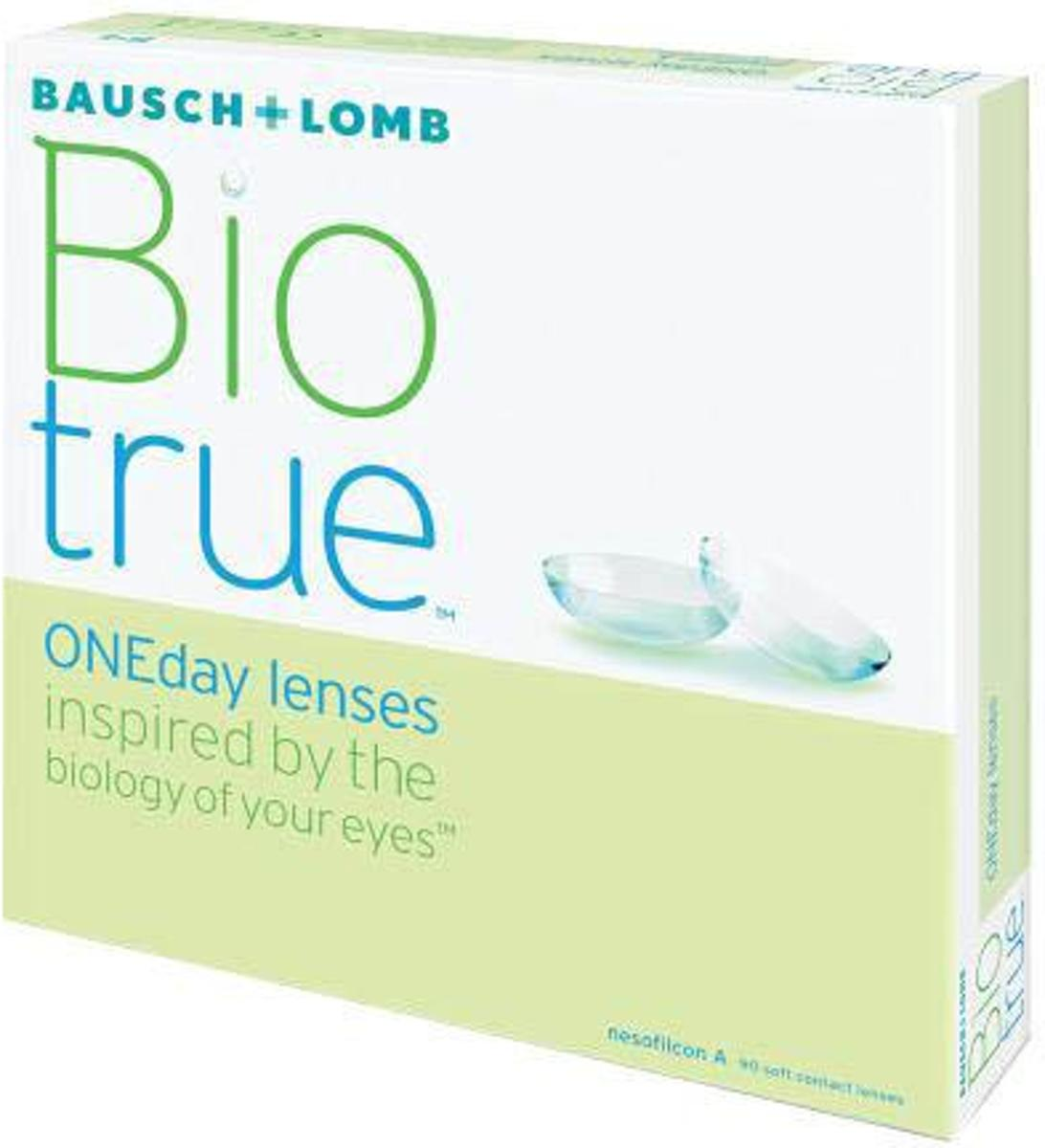 Foto van -0,25 Biotrue ONEDay - 90 pack - Daglenzen - Contactlenzen