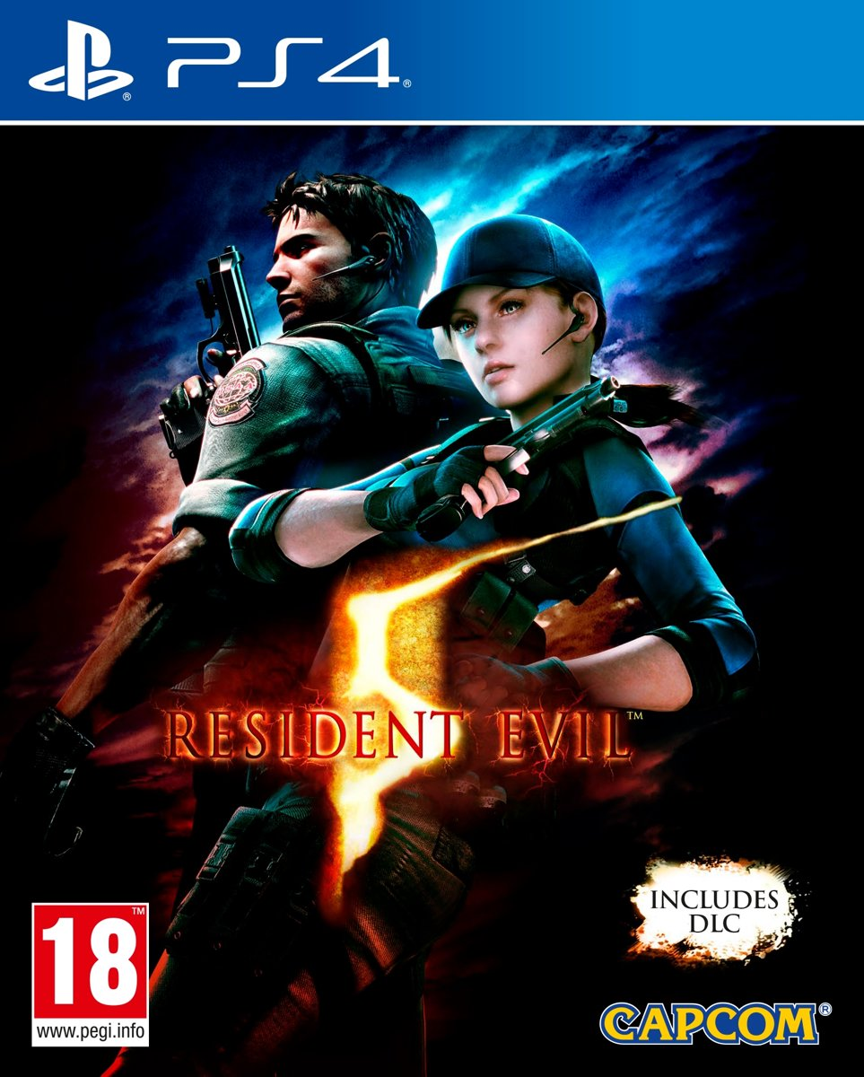 Resident Evil 5 Remastered PlayStation 4