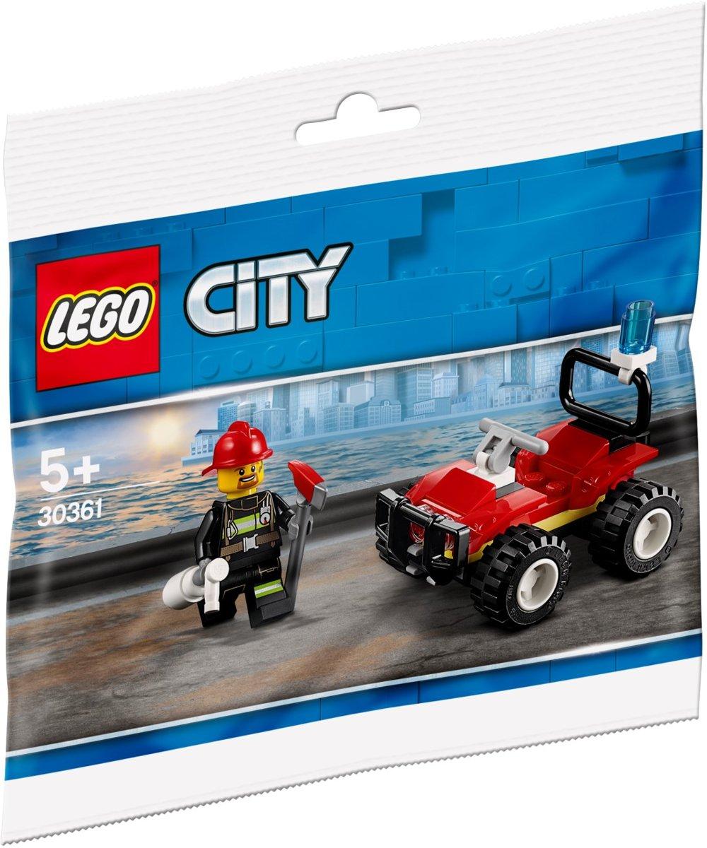 LEGO City 30361 Brandweer Quad (polybag) | City - Brandweer