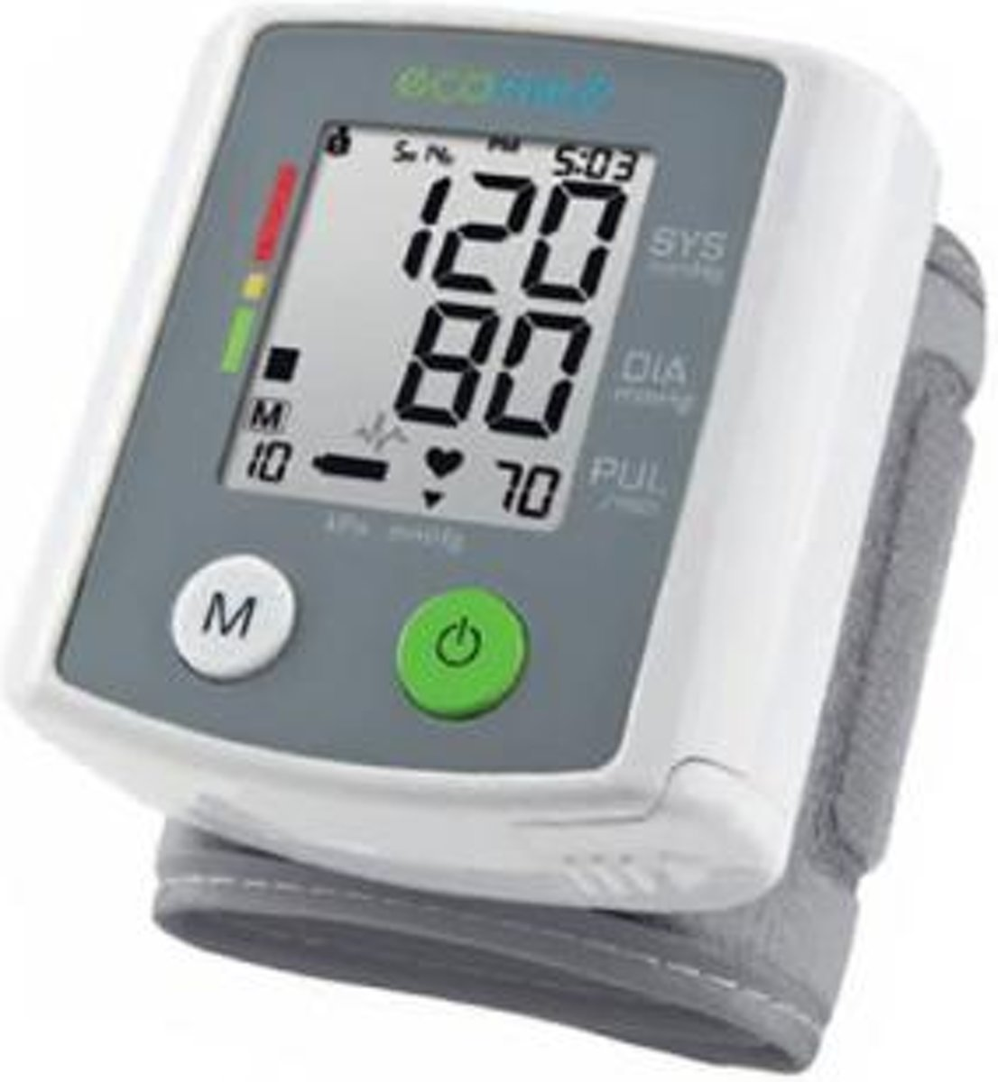Ecomed BW-80E Pols bloeddrukmeter