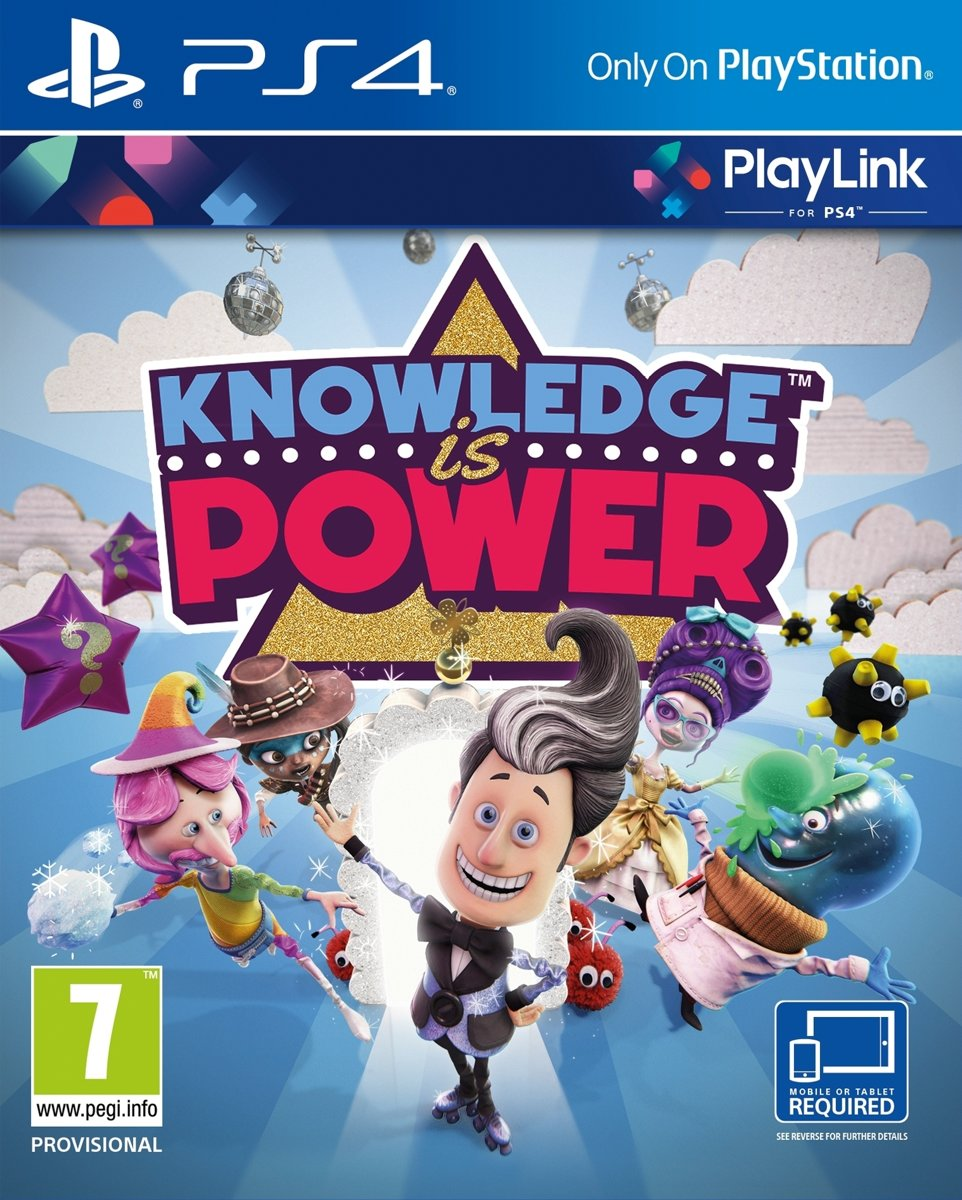 Knowledge is Power PlayStation 4