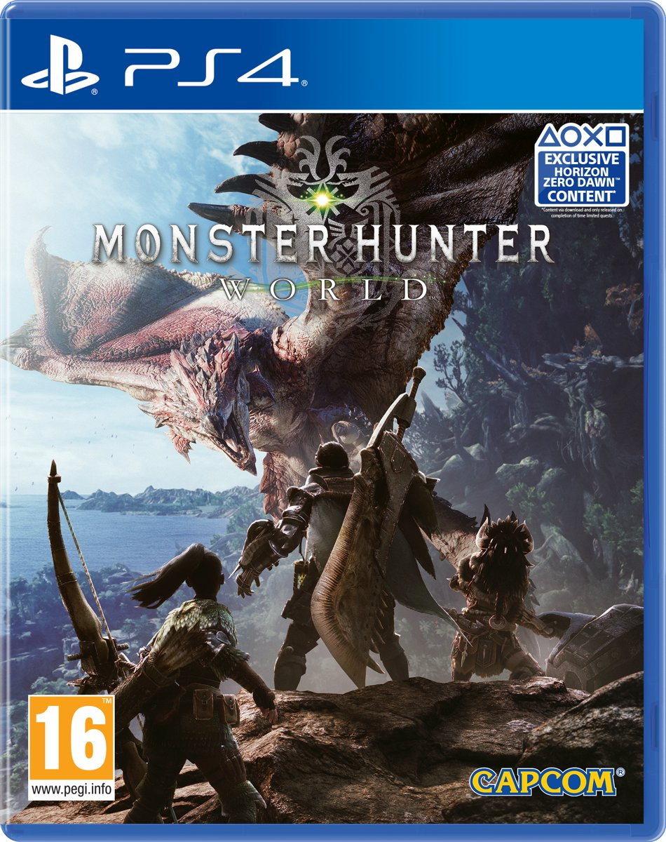 Monster Hunter World PlayStation 4