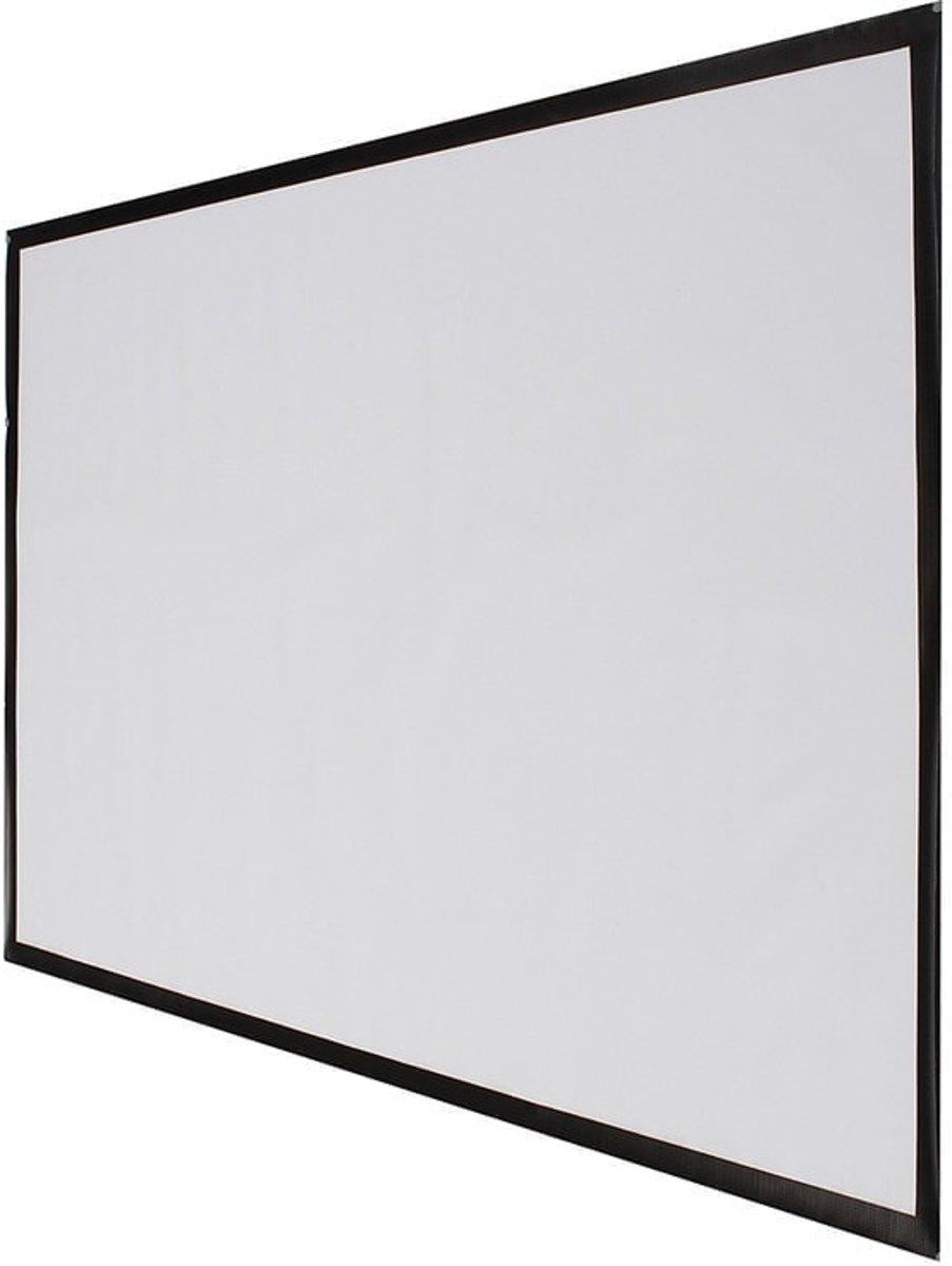 Draagbare 72 inch 16: 9 PVC Fabric Matte Projector projectiescherm