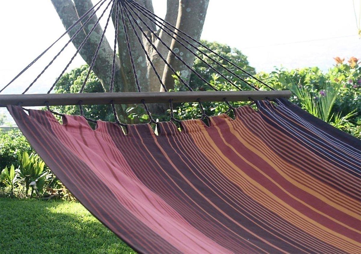 Hangmat Caoba - met spreidstok