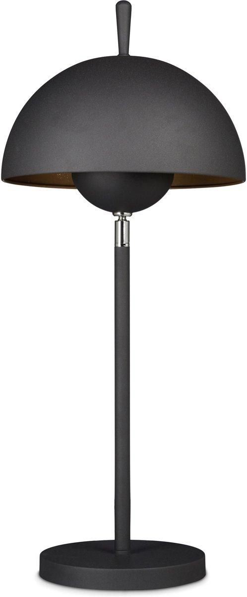 Extreem bol.com   relaxdays - tafellamp rond - metaal design - modern HZ75