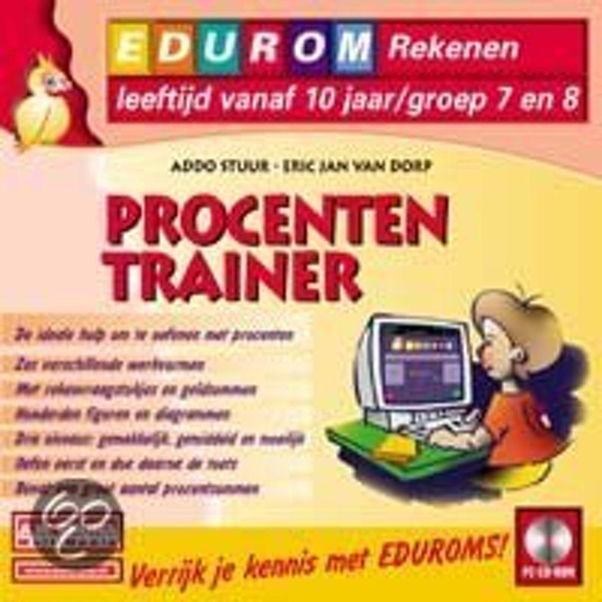 Edurom Procententrainer Vanaf 10Jr kopen