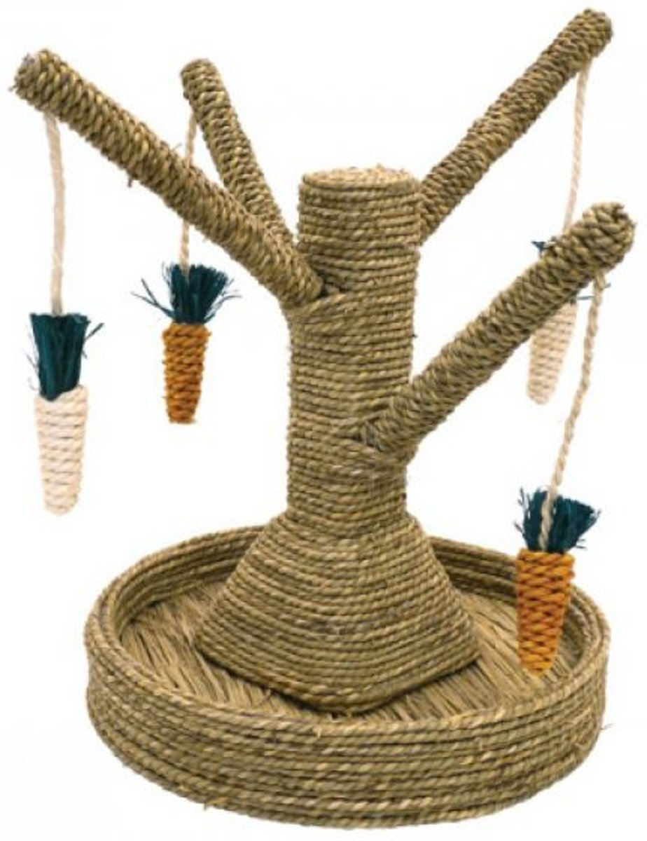 Rosewood Speelboom Wortels - Speelgoed Voor Knaagdieren - Bruin -  40 x 33 x 33 cm