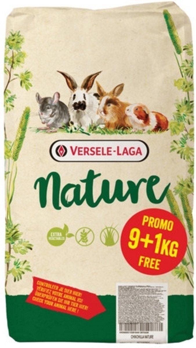 Versele-Laga Nature Cuni - Konijnenvoer - 9+1 kg