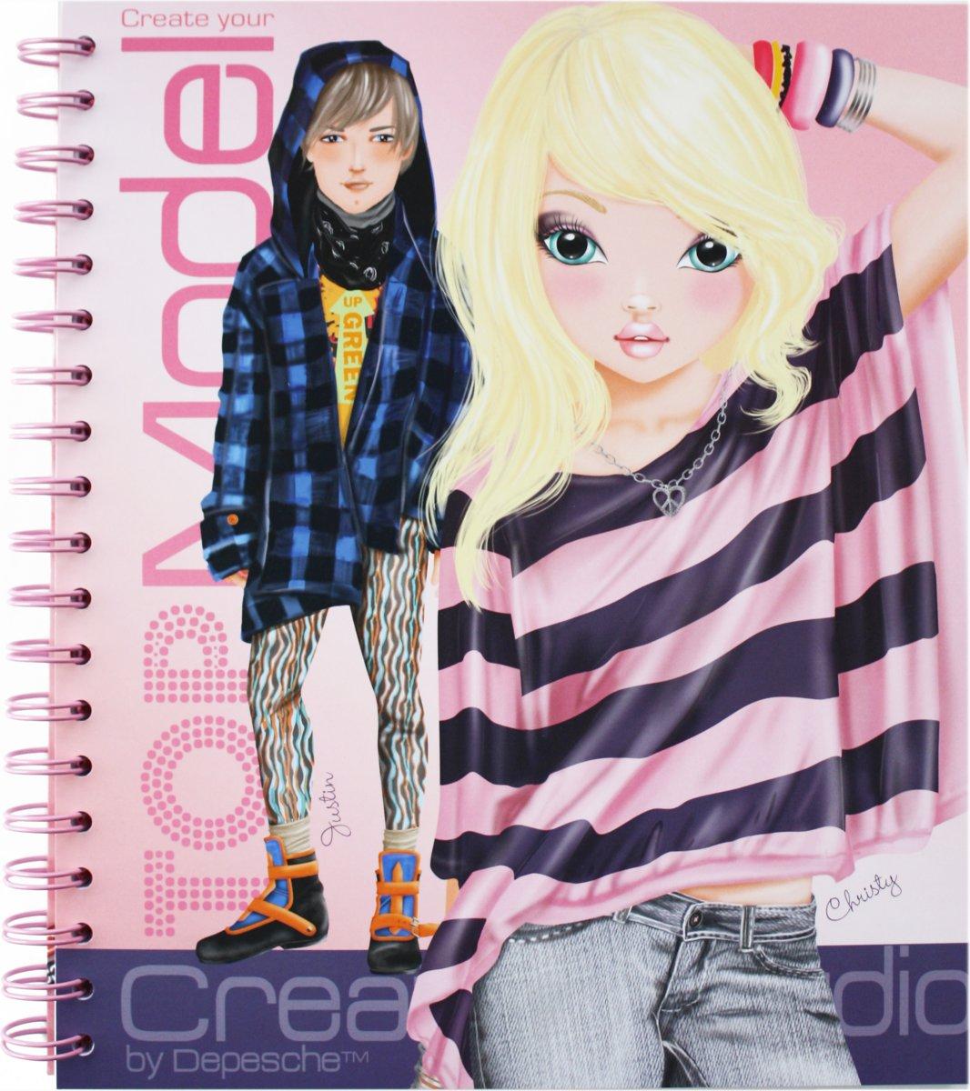 Kleurplaten Topmodel Aankleden.Bol Com Create Your Top Model Kleurboek Topmodel Speelgoed