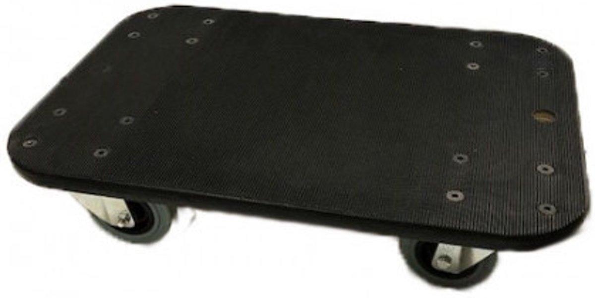Meubelhondje hout + rubber antislip - 4 zwenkwielen kopen