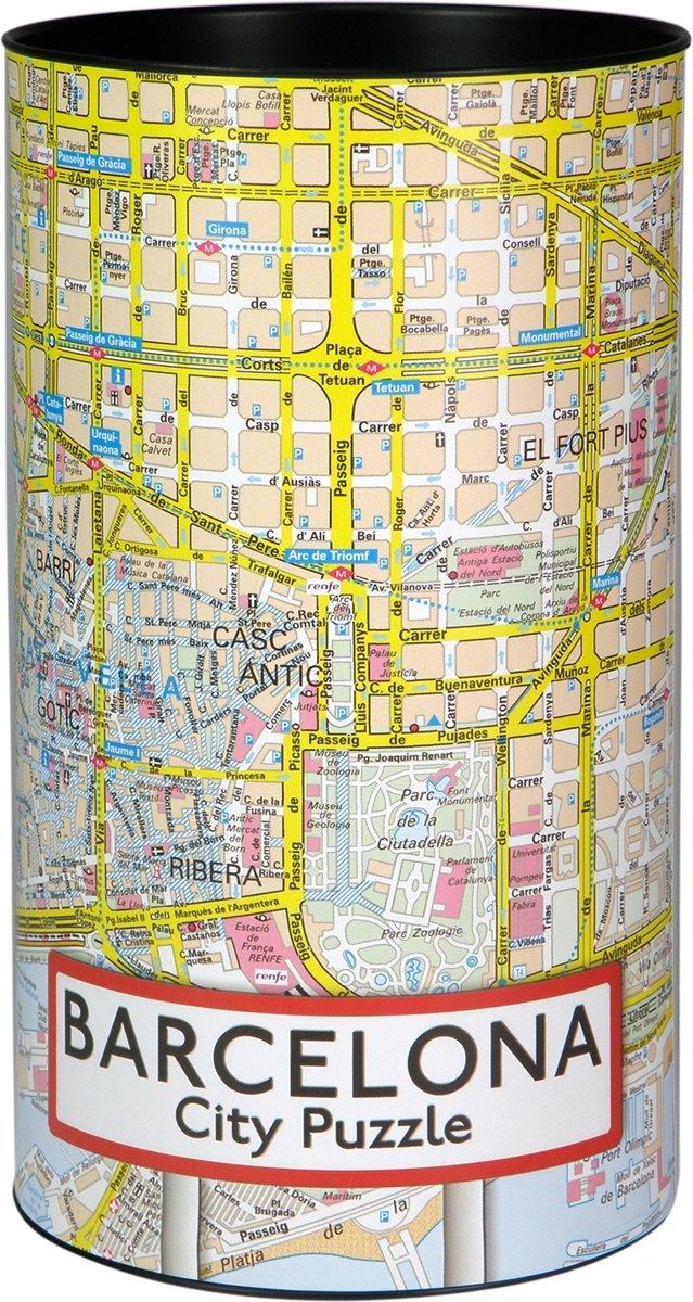 City Puzzle Barcelona - Puzzel - 500 puzzelstukjes