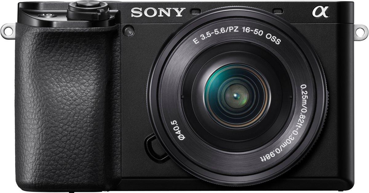 Sony A6100 + 16-50mm f/3.5-5.6 - Zwart