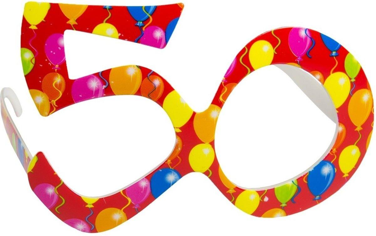 Bril 50 Jaar Ballon kopen