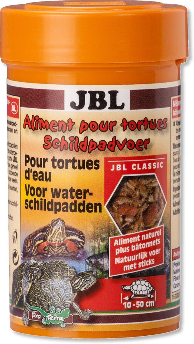 Jbl schildpadvoer 100ml natuurlijke voedersticks met vis