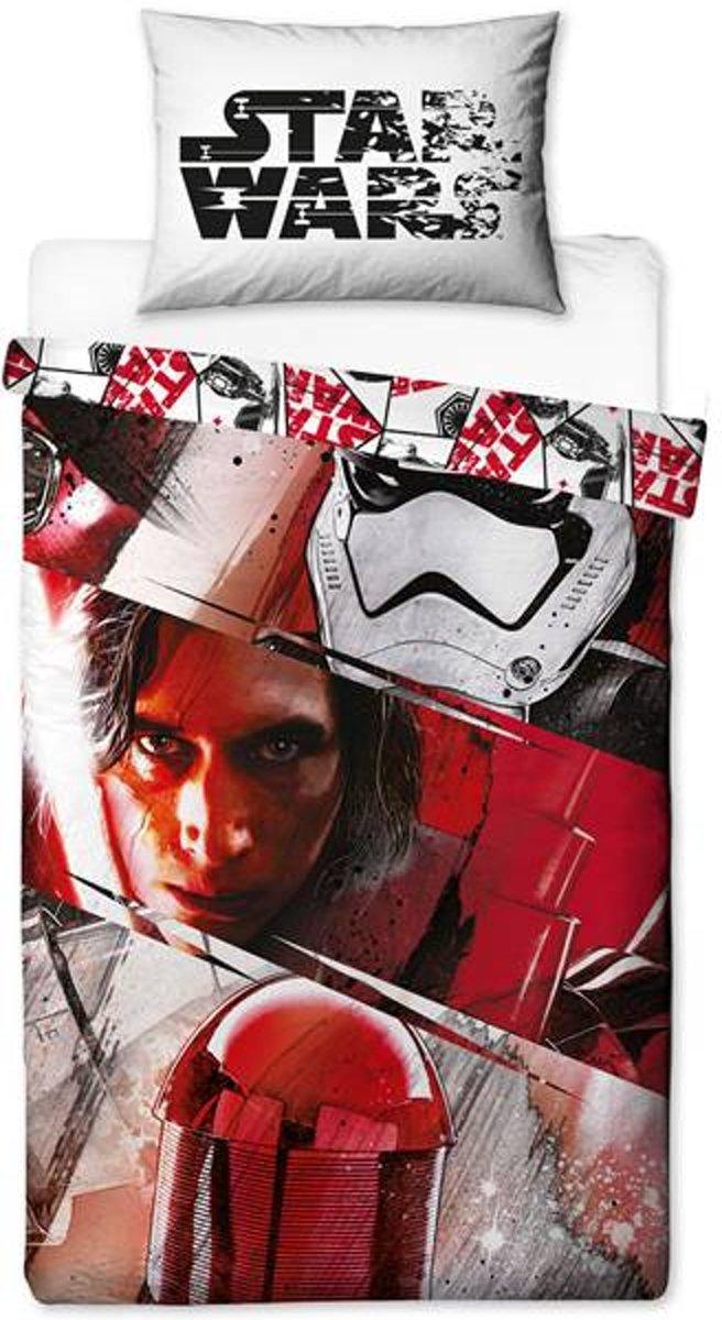 Star Wars 1 persoons dekbedovertrek, Starwars The Last Jedi Episode VIII dekbed kopen