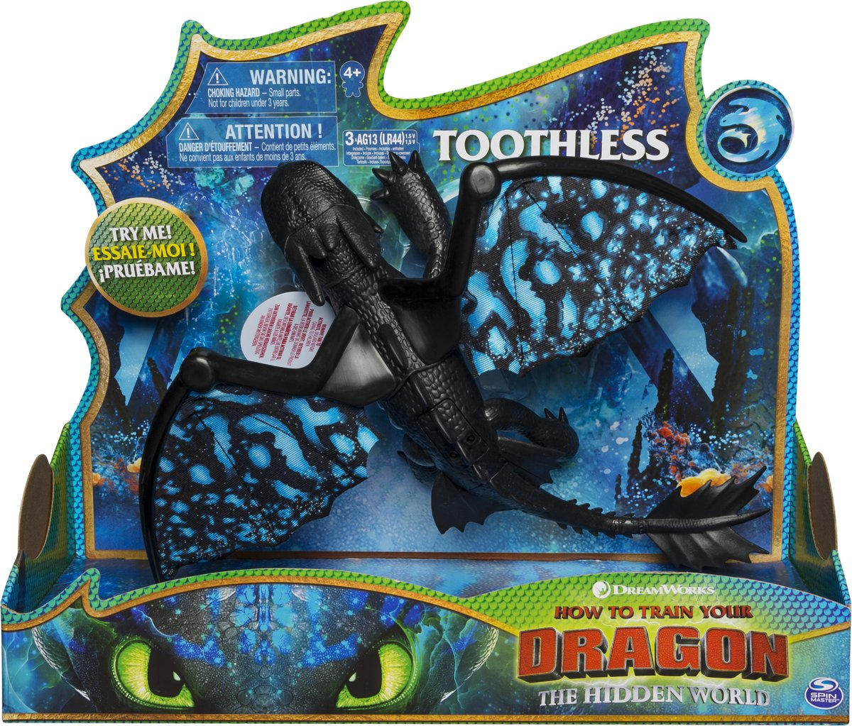 Dragons - Deluxe Dragon Toothless