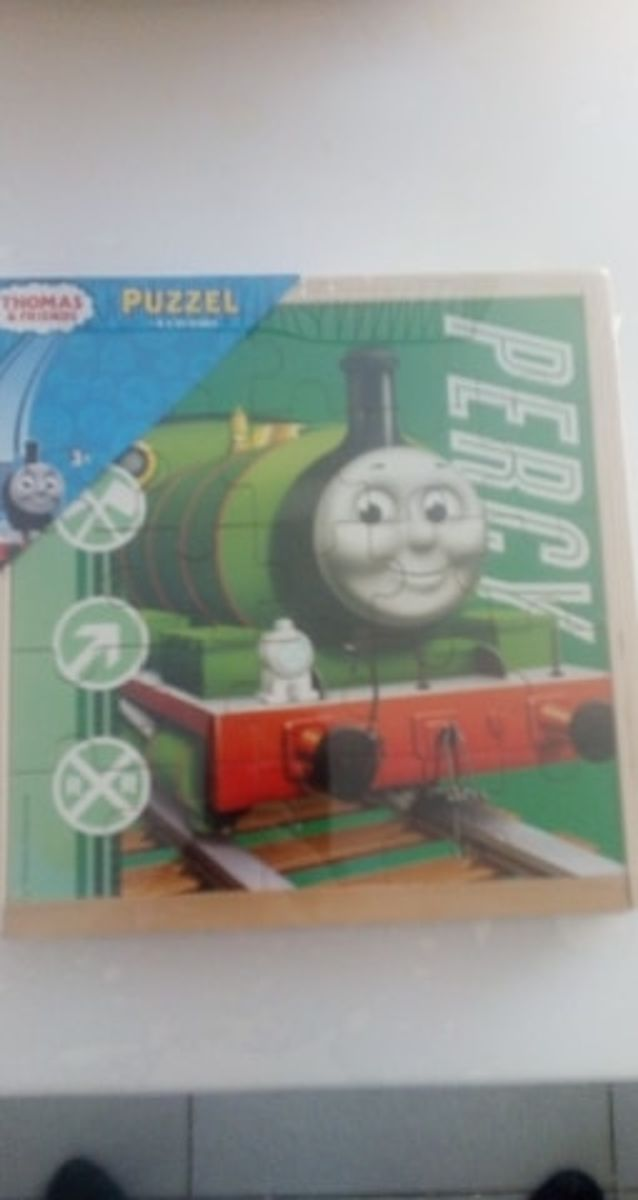 Thomas puzzel 4 x 25 stuks