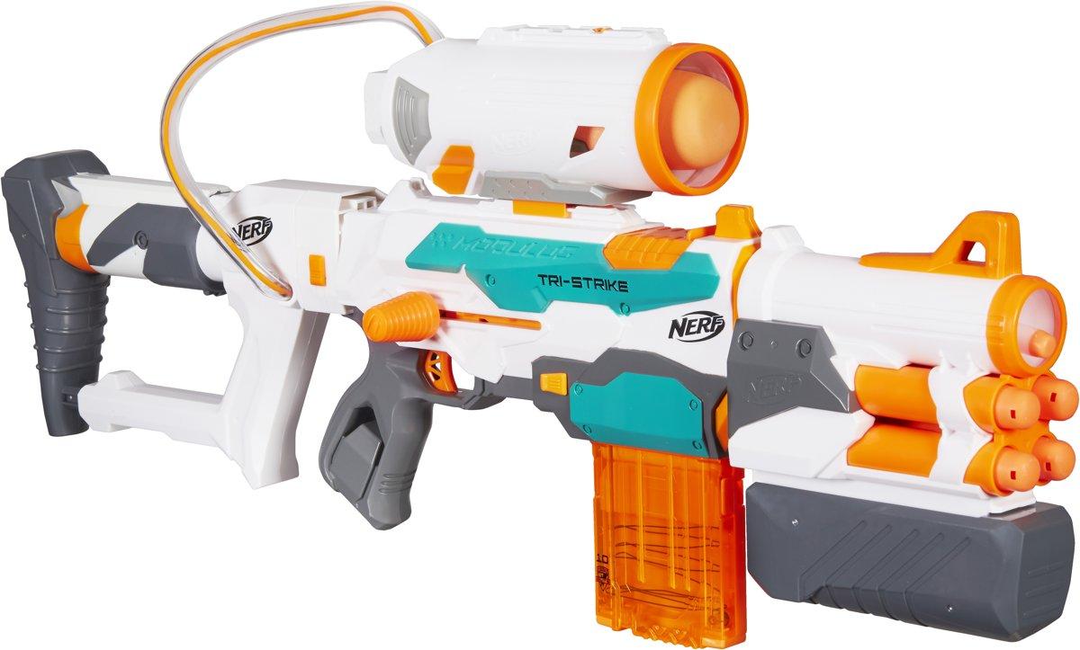 NERF N-Strike Modulus Tri-Strike - Blaster voor €39,98