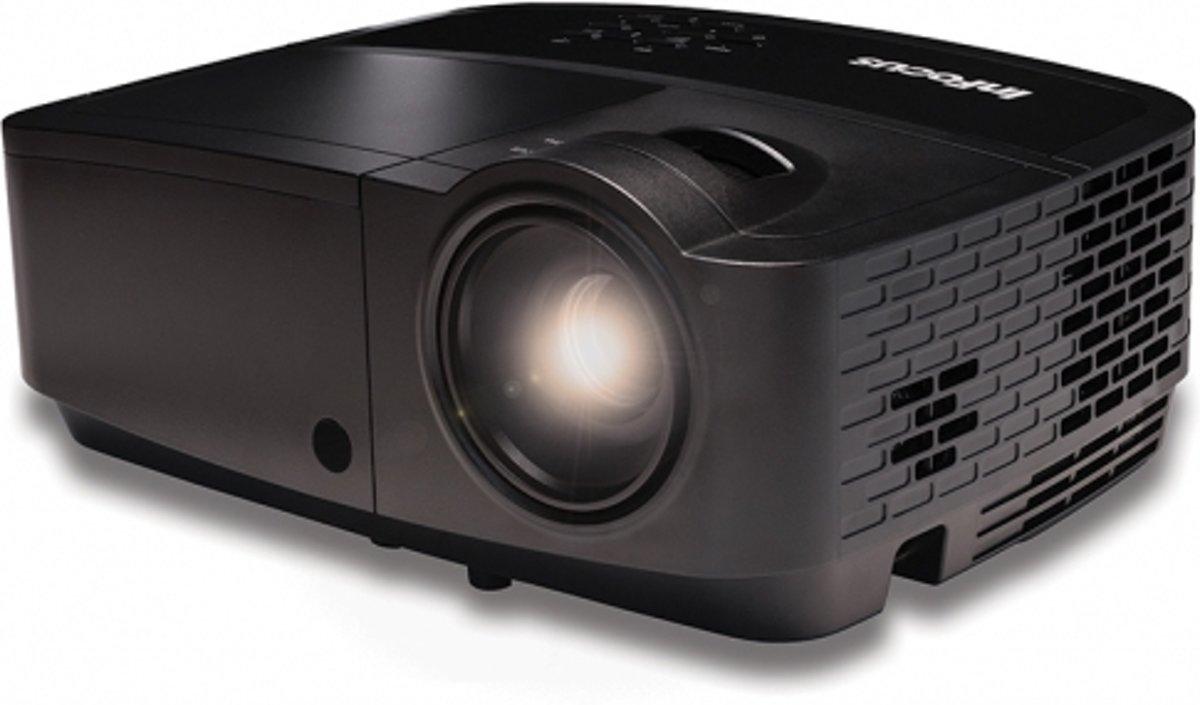 InFocus IN126a - DLP beamer/projector 3D-ready - WXGA - 3500 ANSI-lumen - Zwart