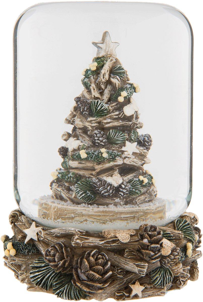 Clayre & Eef Sneeuwbol kerstboom Ø 8x10 cm kopen