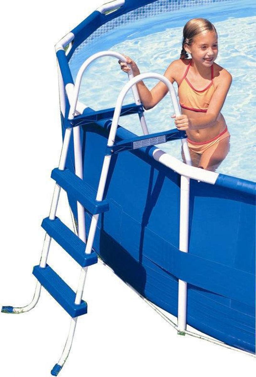 Intex Pool Ladder 91cm grijs