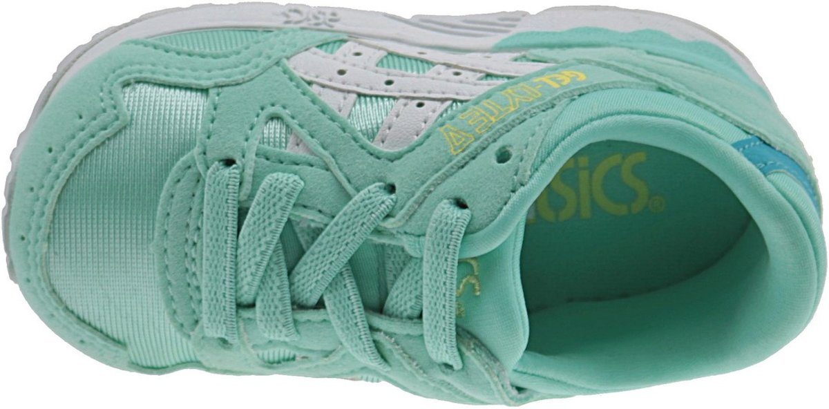 Gel Asics Lyte V Ts C539n 7601 - Chaussures De Sport Chaussures - Unisexe - Taille 19,5 - Vert / Blanc