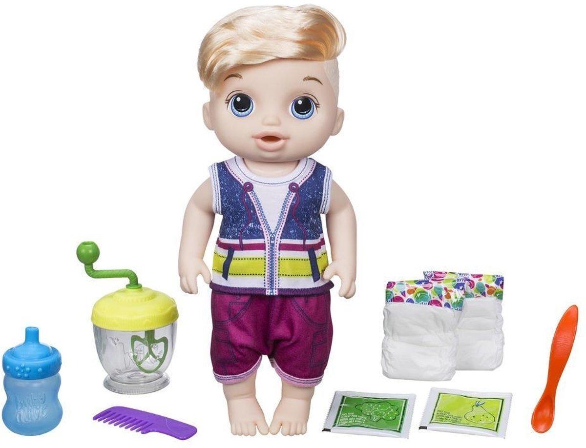 Baby Alive Sweet Spoonfuls Baby Jongen Blond