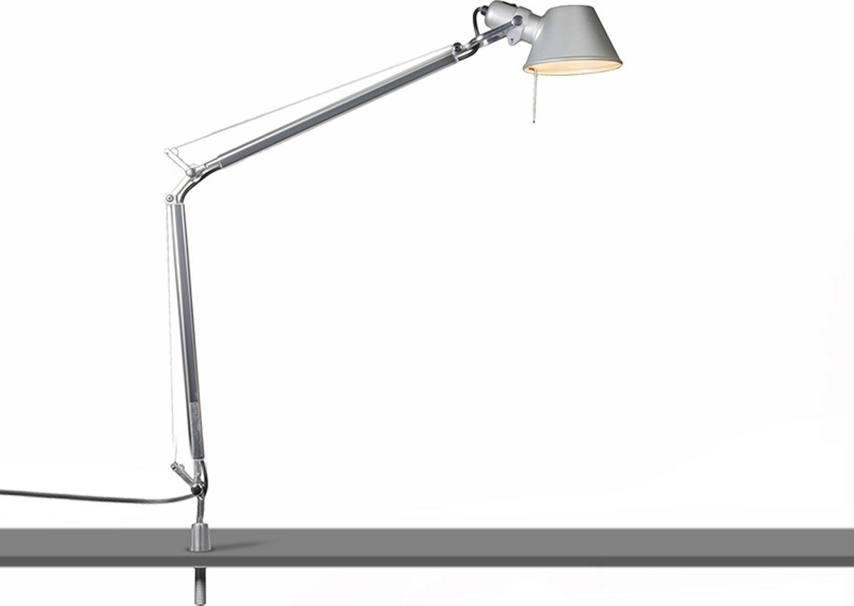Bol artemide tolomeo tavolo desk support bureaulamp