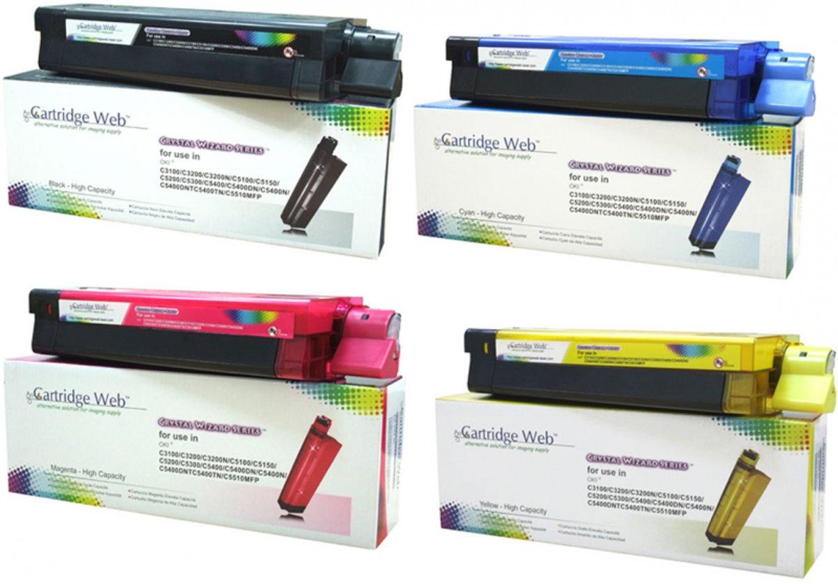 Oki Rainbow pakket kleur zwart en kleur (Compatible) kopen