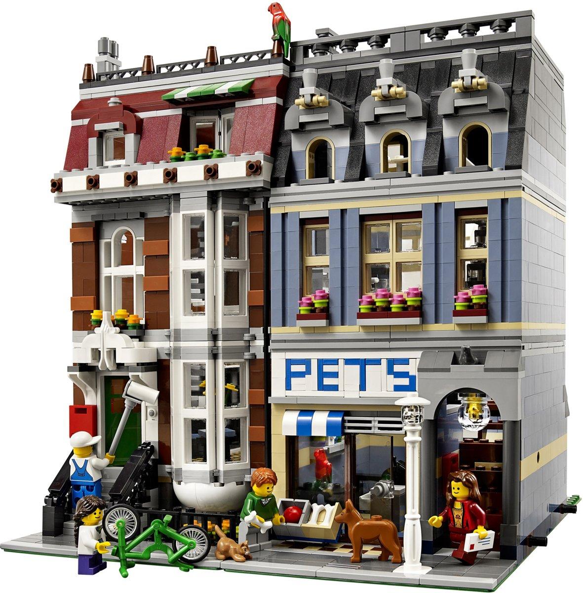 Fonkelnieuw bol.com | LEGO Dierenwinkel - 10218, LEGO | Speelgoed QU-87