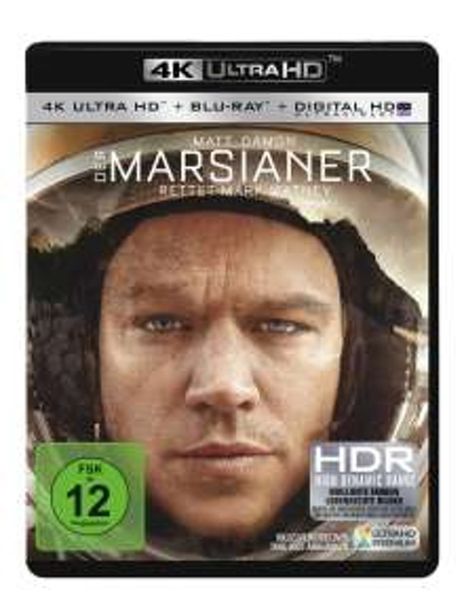 Der Marsianer - Rettet Mark Watney (Ultra HD Blu-ray & Blu-ray)-