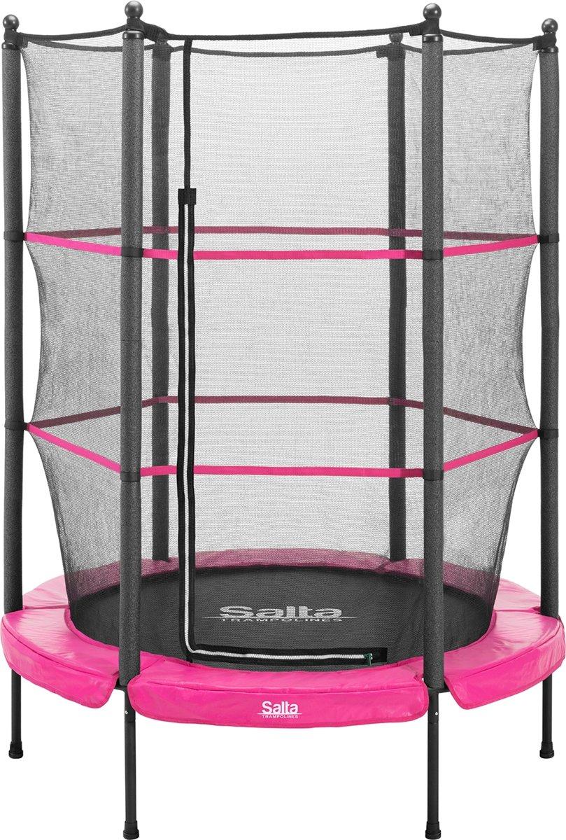 Salta Junior Trampoline – 140 cm – roze rand