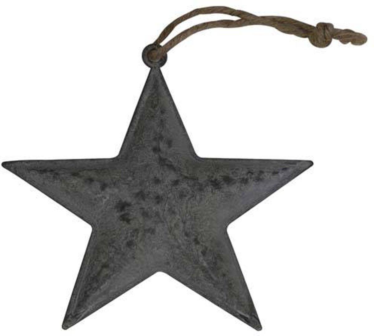 Deco Star 15x1cm Zink kopen