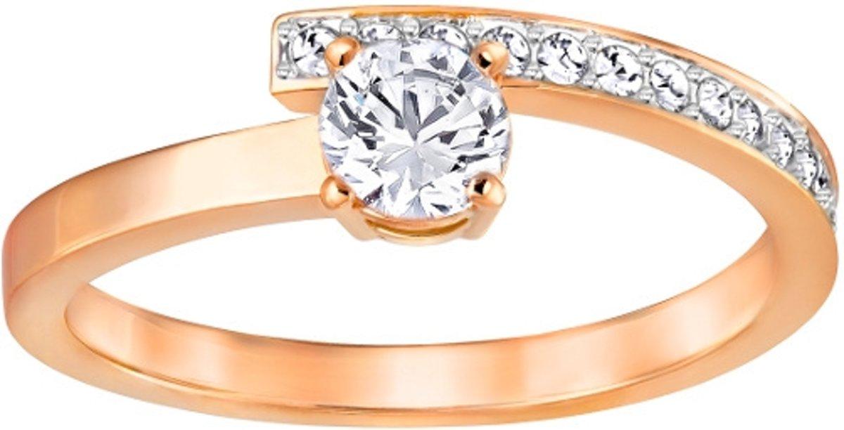 Swarovski Fresh Rose Gold Crystal Ring  (maat 50) - Roségoud
