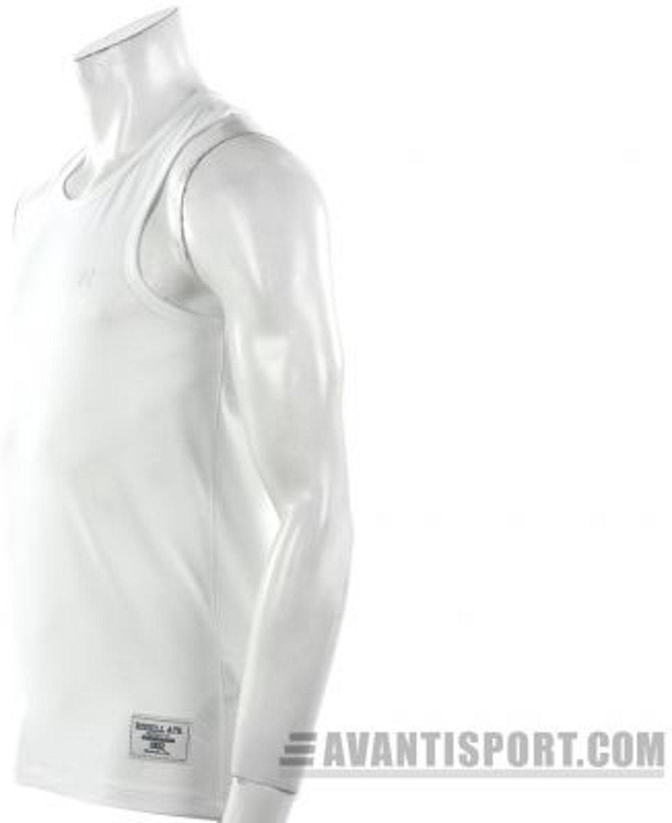 7330ab28 bol.com   Russell Athletic Sleeveless Muscle Tee - Sportshirt - Heren - Maat  XXL - Wit