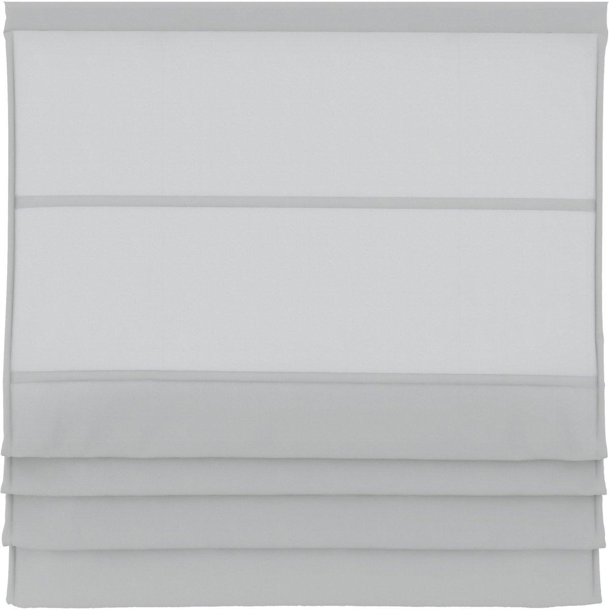 Vouwgordijnen - Wit - Lichtdoorlatend - 100x180 cm kopen