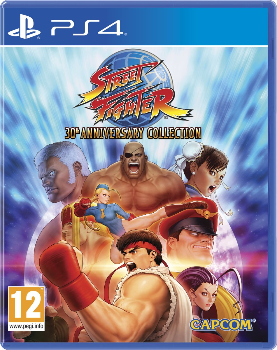 Street Fighter: 30th Anniversary Collection PlayStation 4