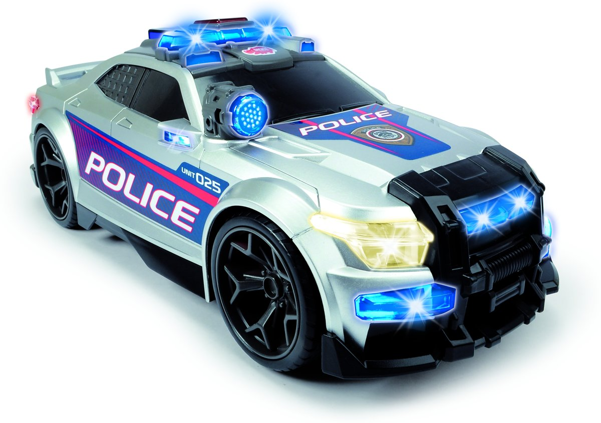 Dickie Action Series - Politiewagen (36cm)