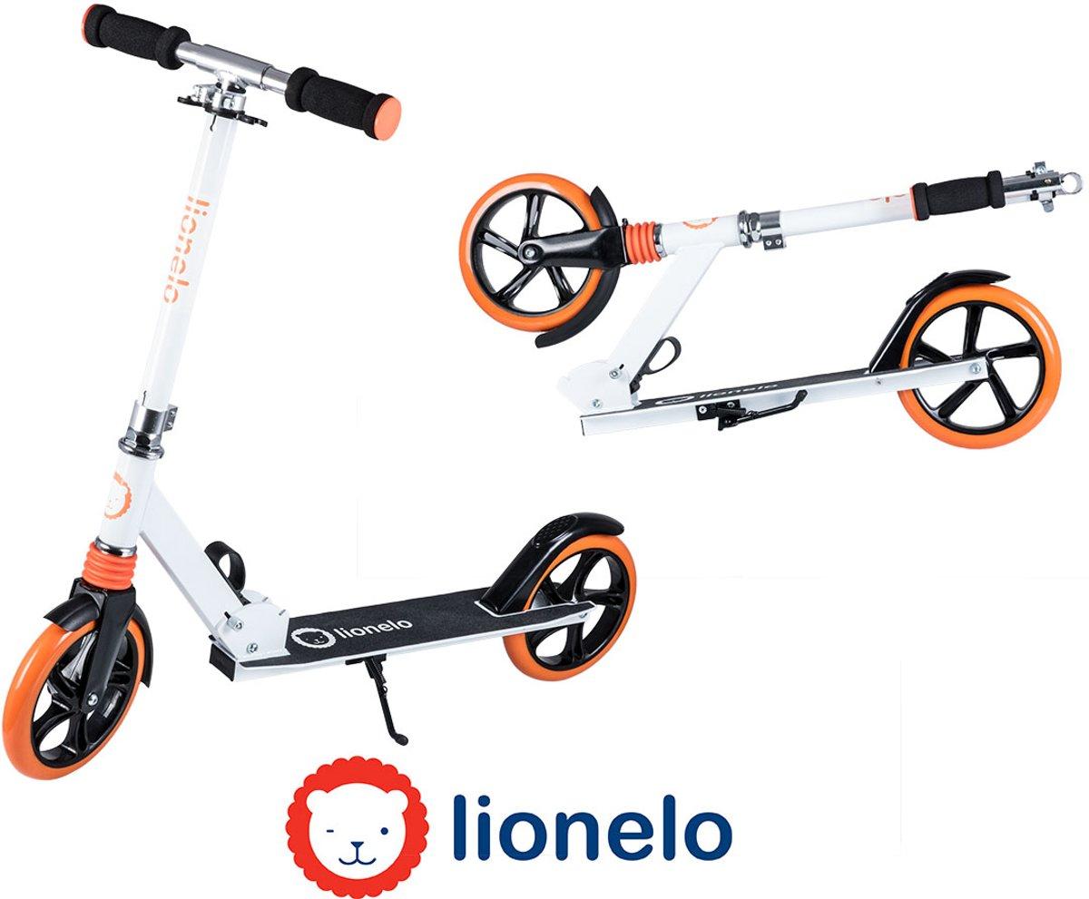 Lionelo Luca - Step - Aluminium/metalen step met 20cm wielen en Abec7 lagers tot 100kg belastbaar- wit